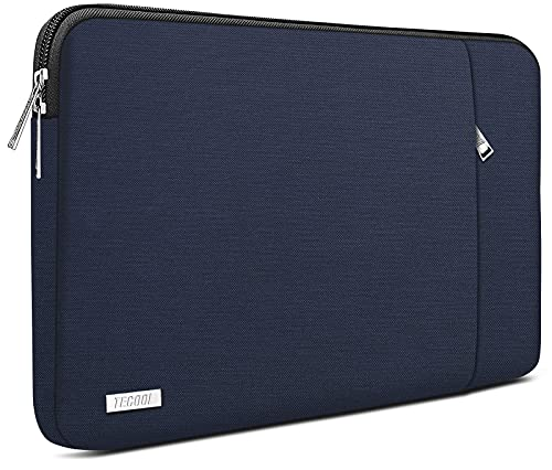 TECOOL 14 Zoll Laptoptasche Notebook Hülle Tasche Sleeve Hülle für HP Stream EliteBook 14, Lenovo IdeaPad ThinkPad 14, Acer Aspire Chromebook 14, Dell Inspiron 14, Dunkelblau