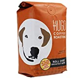 Hugo Coffee Whole Beans Roll Over Breakfast Blend Coffee with Maple, Milk Chocolate, and Nut Tasting Notes   Hugo Supports Dog Rescues (12 oz)