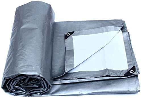 Telas para toldos LQ Resistente al Agua e Impermeable de Tela del Coche camión de Lona de protección Solar Protector Solar a Prueba de Viento del paño de Tela de Lona de plástico (Size : 6m*4m)