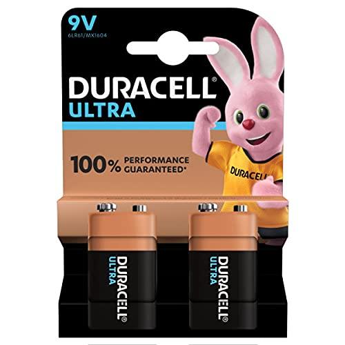 Duracell 9V Batterien, 2er pack
