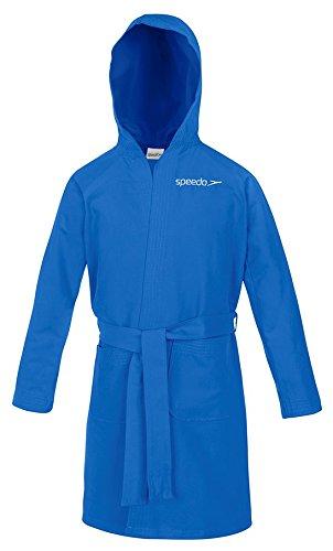 Speedo Microfiber, Accappatoio Unisex, Azzurro, 4