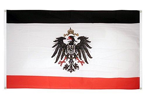 Flaggenfritze® Flagge Deutsches Kaiserreich 1871-1918 - 90 x 150 cm