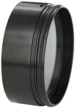 RAB Lighting HH1B H System Hood Aluminum 5-5/8  Diameter x 2-1/4  Height Black