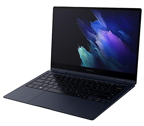 Samsung Galaxy Book Pro 360 Laptop, Intel Core i7 di undicesima generazione, Display Touchscreen 13,3 Pollici, Windows 10 Home, 16GB RAM, SSD 512GB, Colore Mystic Navy