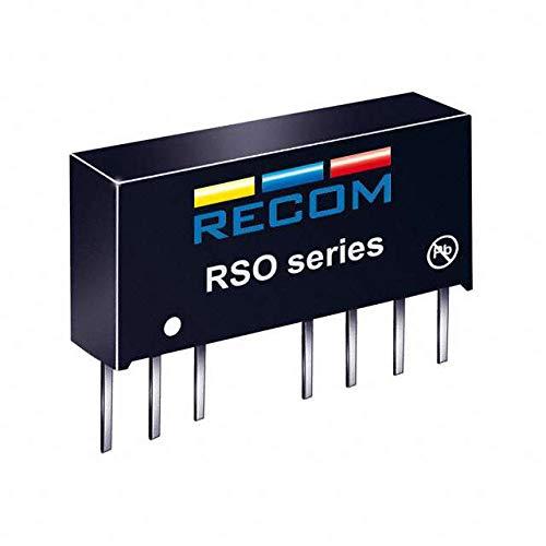 RECOM RSO-0505D Nbr. Ausgang: 2 x 5 V/DC 5 V/DC, -5 V/DC 100 mA, 1 W, 1 Stück