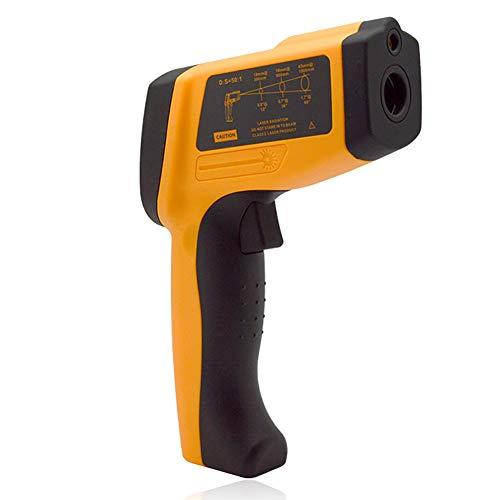 ZUZU Pistola de Temperatura para la Cocina Carne Alimentos Cocina BBQ Termostato Industrial automotriz 0-1650C/32-3002C-1.5C o -1.5%