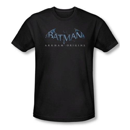 Batman Arkham Origins – Logo Homme ajusté pour Homme - Noir -