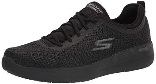 Skechers Men's Go Walk Max-216142 Sneaker, Black/Black, 44 EU