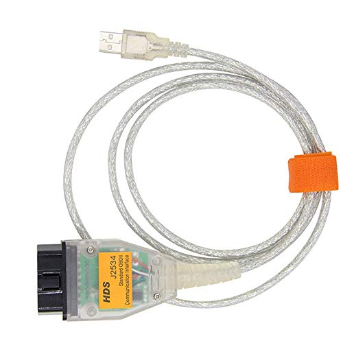 Washinglee OBD2 Diangostic Cable for Honda, USB HDS J2534 Scanner Cable (Latest Version)