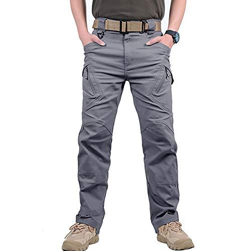 GooDoi Męskie spodnie robocze, outdoorowe bojówki taktyczne, wojskowe spodnie bojowe