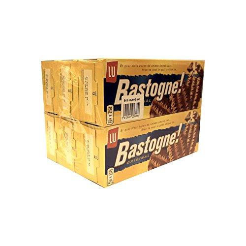 Lu Bastogne! Original 6 x 260g Packung (Gebäck mit braunem Kandis)