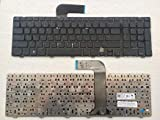 New Laptop Replacement Keyboard for Dell Inspiron N7110 5720 7720 / Vostro 3750 / XPS L702X Laptop Series US Layout 0454RX 08XN0P 09GTY3 Black Frame N7110