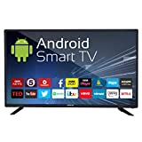 eAirtec 81 cm (32 inches) HD Ready Smart LED TV 32DJSM (Black) (2020 Model)