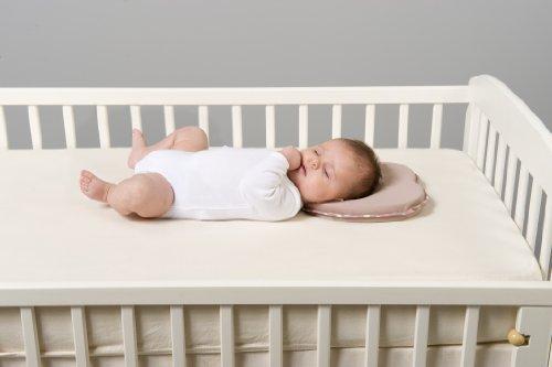 Babymoov Lovenest - Cojín para recién nacidos en tejido ventilado, color chocolate