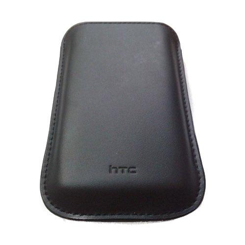 Original HTC Leder Pull Up Case Tasche PO S530Für HTC HD Mini, HTC Wildfire, HTC Smart, Handy