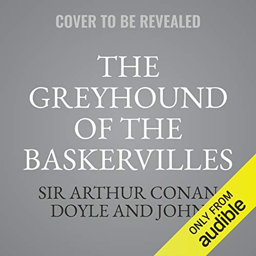 The Greyhound of the Baskervilles cover art