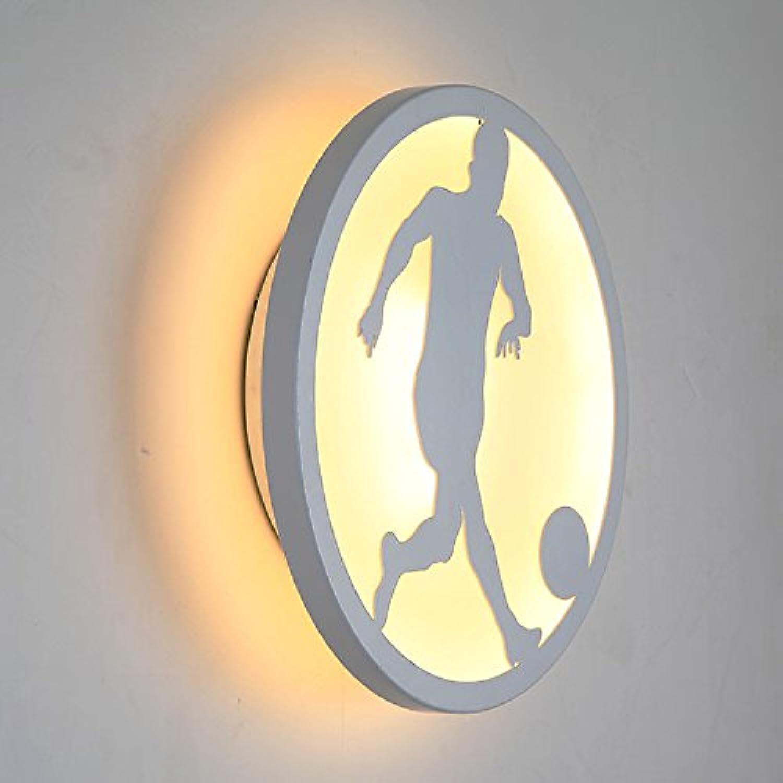 StiefelU LED Wandleuchte nach oben und unten Wandleuchten Verkehrskorridor, LED-Leuchten, Bad leuchten, Nachttischlampe runde Wand leuchten, weies Licht