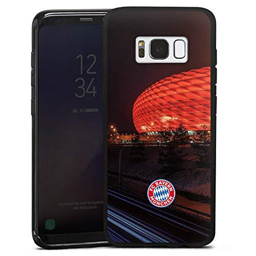 DeinDesign Silikon Hülle kompatibel mit Samsung Galaxy S8 Case Schutzhülle FCB Stadion FC Bayern München