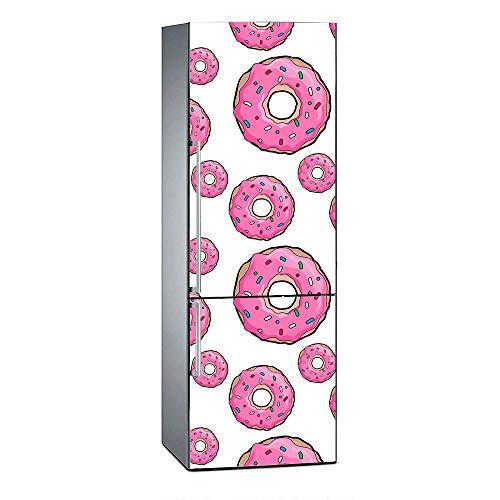 Oedim Vinilo Frigorífico Donuts Rosas 200x60cm |