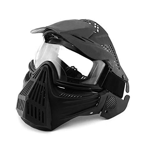 mewmewcat Máscara Facial Ao Ar Livre Máscara de Proteção Anti-Fog Ciclismo Óculos de Caça Óculos Militares para CS Campo Airsoft Paintball