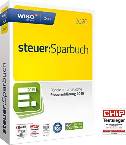 WISO steuer:Sparbuch 2020 (für Steuerjahr 2019 | Disc in Standard Verpackung)