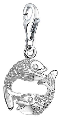 Nenalina Charm Fische Anhänger in 925 Sterling Silber für alle gängigen Charmträger 713214-000