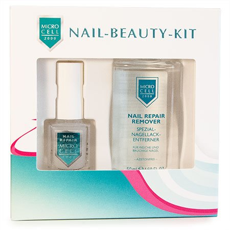 Micro Cell 2000 Nail Beauty Kit (12 ml Nail Repair und 50 ml Remover)