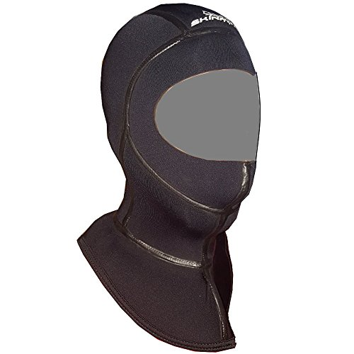 SKINFOX Kopfhaube Superelastic Classic Dive Hood 5mm Stretch Neopren und Thermokragen