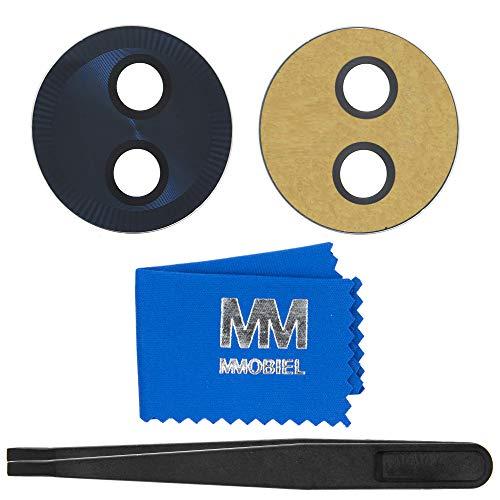 MMOBIEL Reemplazo de Lente Cámara Trasera Compatible con Motorola Moto G6 Play 5.7Pulg. (Deep Indigo) Inc Pinzas