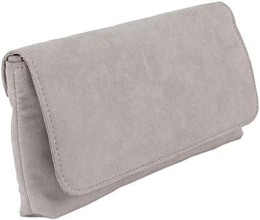 Anna Cecere Clutch ACX 424 grau Tasche aus Ökokamoskol
