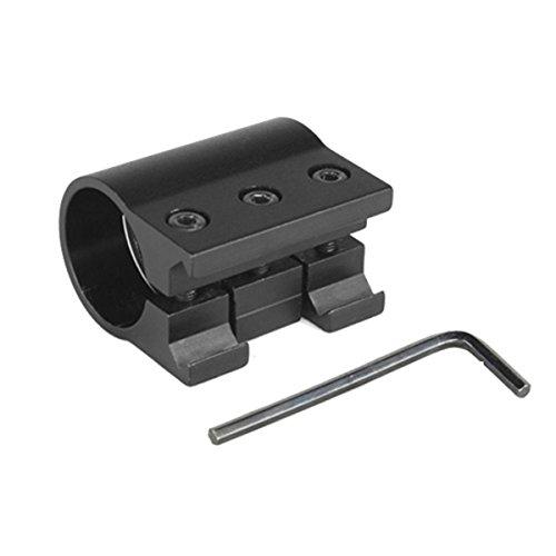 Fenix ALG-01, Adattatore per Torce Canna Fucile-ALG-01 Originale Unisex-Adult, Nero, Small