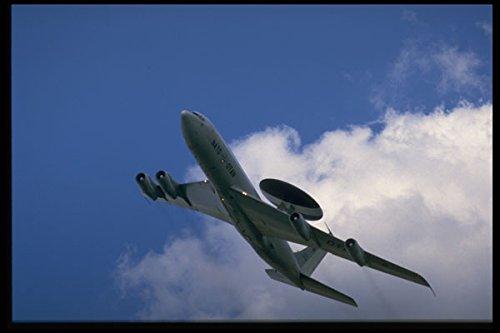 601001 NATO E 3A Sentry AWACS Vliegtuig A4 Photo Poster Print 10x8
