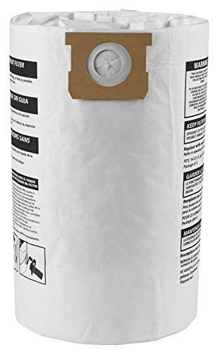 Shop Vac 906-63-33 16 To 22 Gallon Disposable Filter Bags 3 Count