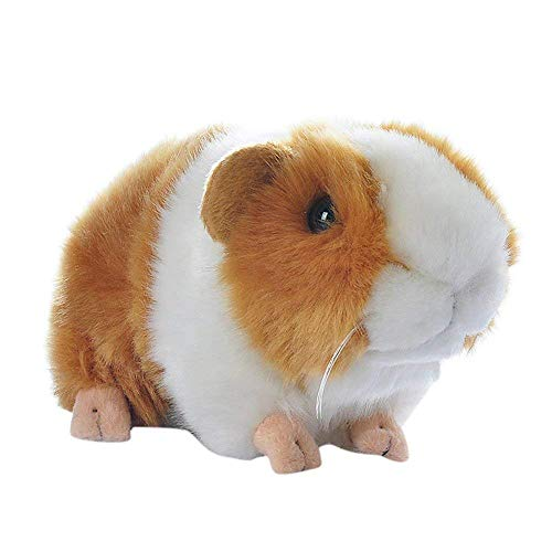 7 Inch Brown Guineapig Guinea Pig Plush Toy Soft Cute Plush Toy Gift for Kids(Yellow & White)