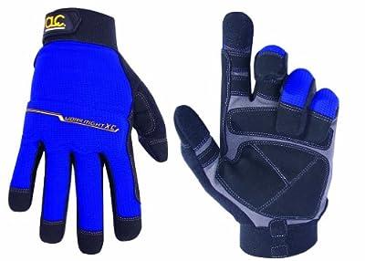 Custom Leathercraft 126M Workright XtraCoverage Flex Grip Work Gloves, Medium