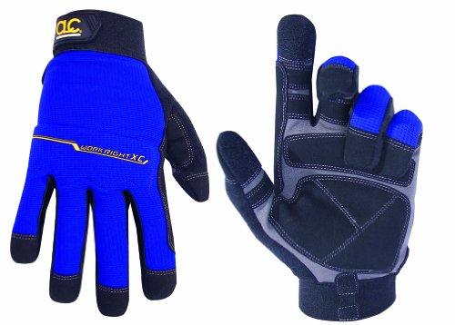 CLC Custom Leathercraft 126M Workright XtraCoverage Flex Grip Work Gloves, Medium