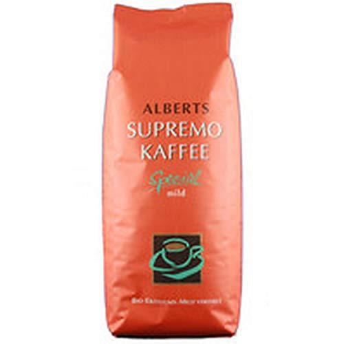 Alberts Kaffee - Supremo Vakuumpack gemahlen - 500g