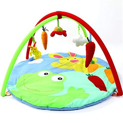 Tapis de Jeu pour bébé Tapis de Sol Tapis Garçon Fille Tapis Tapis de Jeu Tapis de bébé Activité pour Enfants Jouet éducatif Passe-Temps,Rabbit