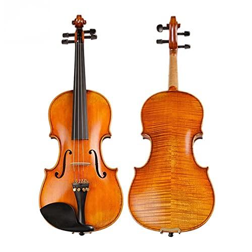 fiol Antik Violin Naturelly Torkad 30 År Gammal Europa Importerade Stripes Maple Anpassad Violin 4/4 Full storlek fiol
