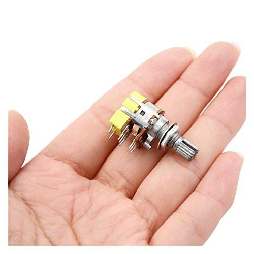 Kfdzsw Micro Interruptor 1 unids B50K 50K Ohm Dual Linear Volumen DE Volumen DE Volumen DE Volumen DE Volumen DE POTENCIÓTER DE Calidad