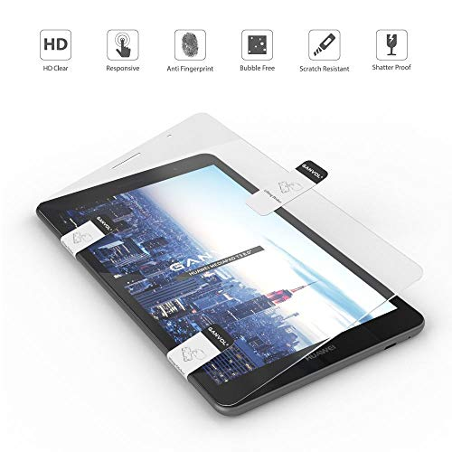 Ganvol Premium Panzerfolie für Huawei MediaPad T3 8 WiFi 20,3 cm (8,0 Zoll), Panzerglas Huawei MediaPad T3 8 LTE 20,3 cm (8,0 Zoll) Schutzfolie - 4