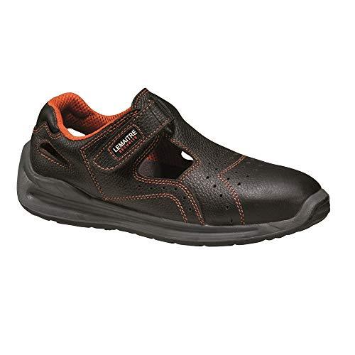 Lemaitre Sprinter S1 SRC - Sandalias de seguridad, color negro, Negro (Negro ), 42 EU