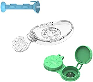 OptiKit - 1 OptiWand - Soft Contact Lens Insertion & Removal Tool + 1 OptiAide Eye Drop applicator + 1 OptiCase Eye Shaped Contact Lens case