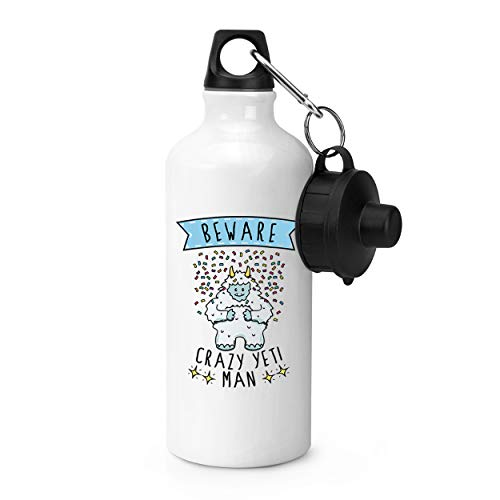 Gift Base Attention Fou Yeti Homme Bouteille Sports