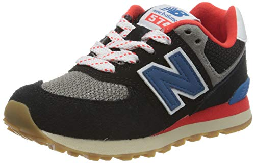 New Balance 574v2, Sneaker, Nero (Black Sov), 33 EU