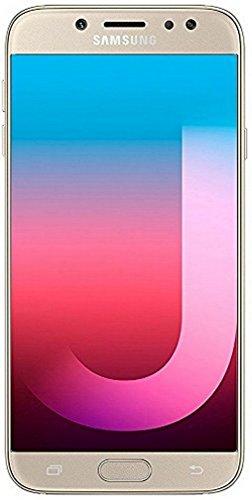 Samsung Galaxy J7 Pro (64GB) J730G/DS - Global 4G LTE 5.5' Full HD Dual SIM Unlocked Phone with Finger Print Sensor, International Model, No Warranty (Gold)