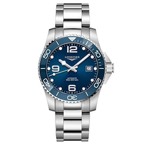 Longines orologio HydroConquest ceramic 41mm blu automatico acciaio...