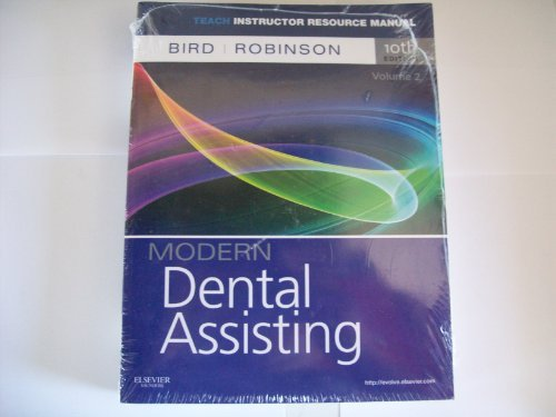 Modern Dental Assisting 10th Edition Resource Manual (Teach IRM, Volume 2)