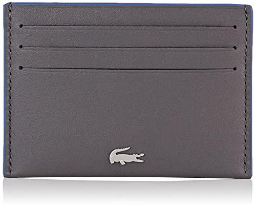 Lacoste NH1346FG, Accesorio de Viaje-Portatarjetas Tipo sobre para Hombre, Magnet Lazuli, Taille Unique