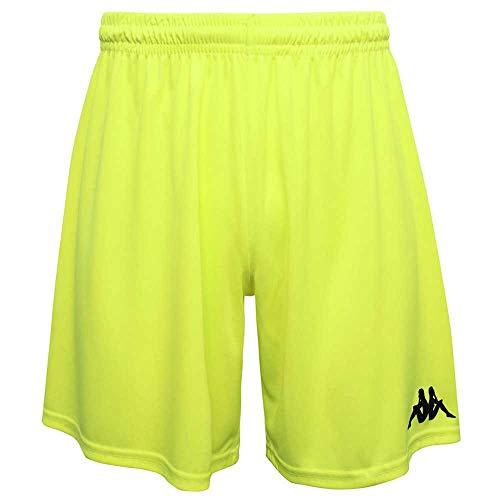 Kappa Herren WUSIS Shorts, gelb, XXL